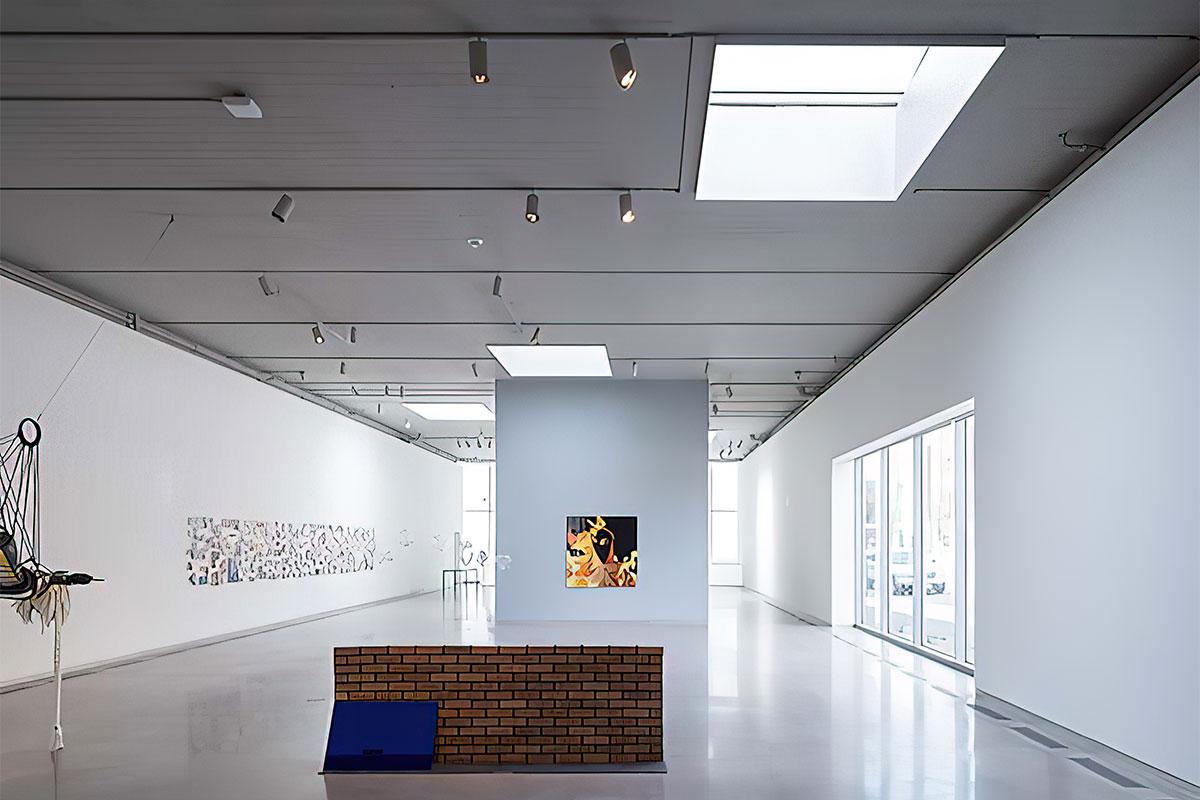 Acurlite skylights illuminate the interior of The Institute for Contemporary Art
